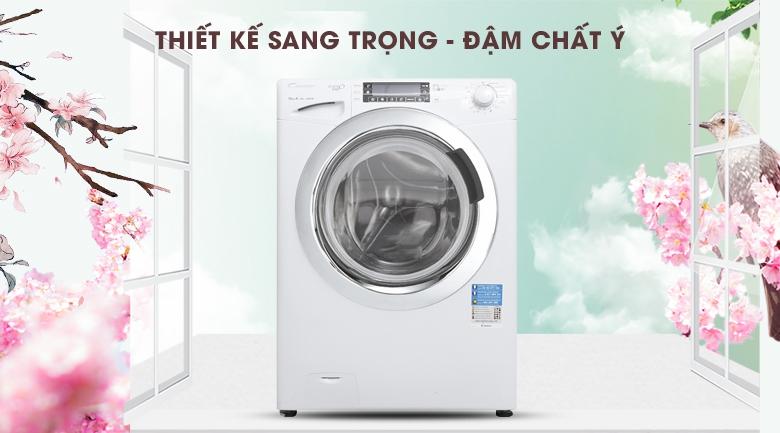 Máy giặt Candy Inverter GVF1510LWHC3/1-S
