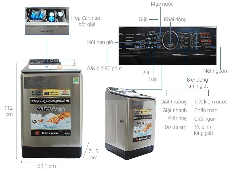 Máy giặt Panasonic NA-FS85X7