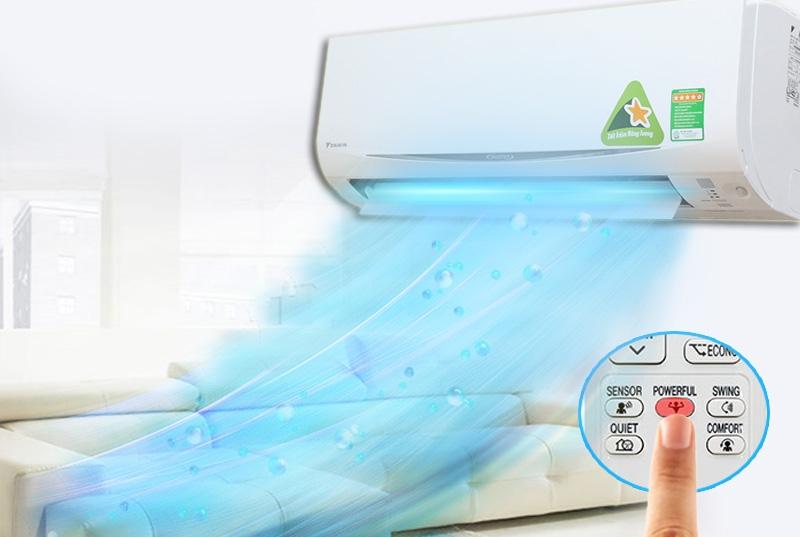 Máy Lạnh DAIKIN Inverter 1.0 Hp FTKC25QVMV