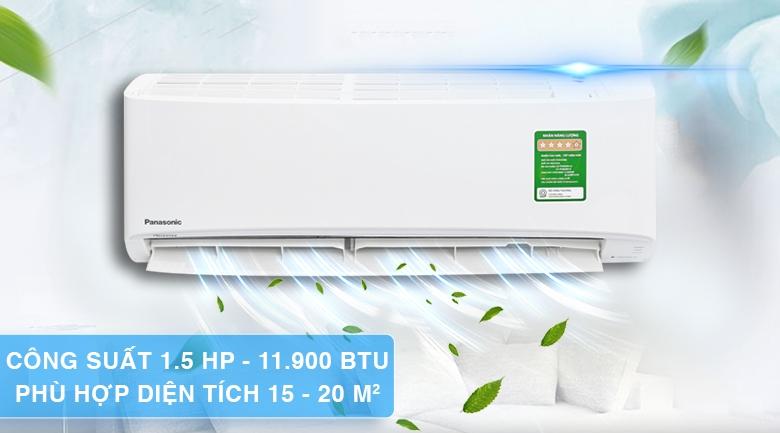 Máy lạnh Panasonic PU12VKH - 1 chiều