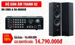 Bộ dàn âm thanh Dalton 02: DH2900 & DA 9000XB