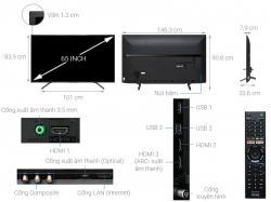 Tivi Sony 4K 65 inch KD-65X7000G
