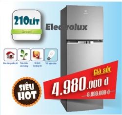 TỦ LẠNH ELECTROLUX 210 LÍT ETB2102MG